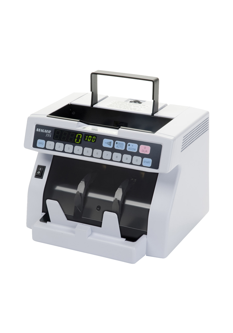 Magner Model 35s Currency Counter