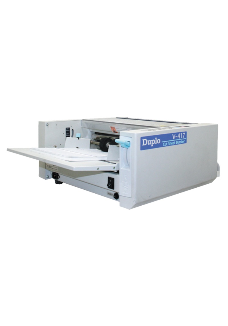 Duplo V-417 Cut Sheet Burster
