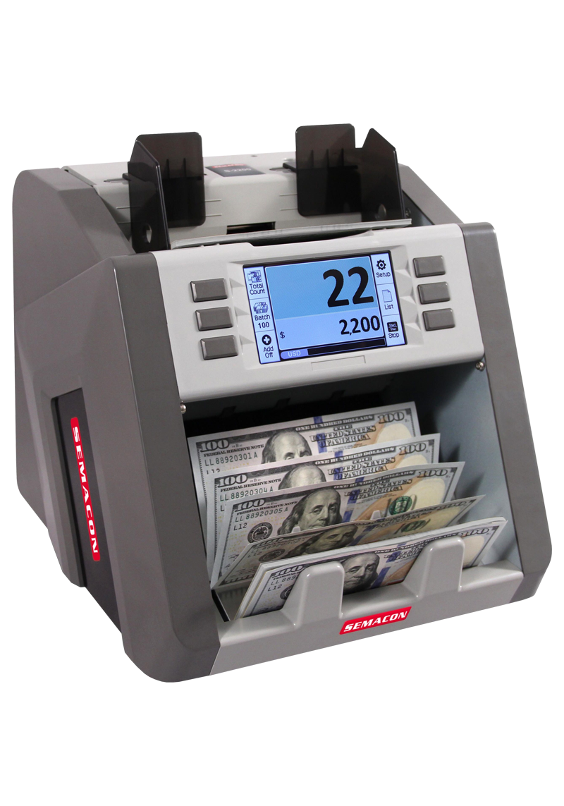 Semacon S2200 Currency Discriminator