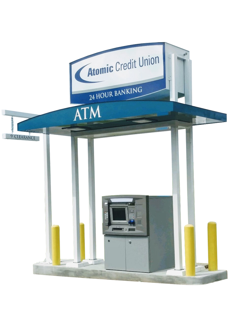 Heritage ATM Canopy